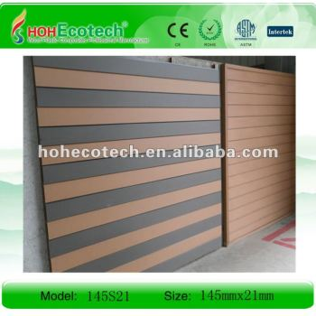 WPC exterior wood wall panels/cladding board