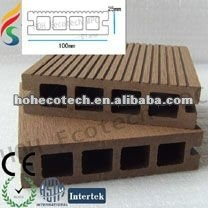 Plancher composé de WPC de plancher creux de decking/conception extérieure