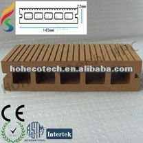 100% riciclabile piano decking di wpc decking composito pavimentazione in composito
