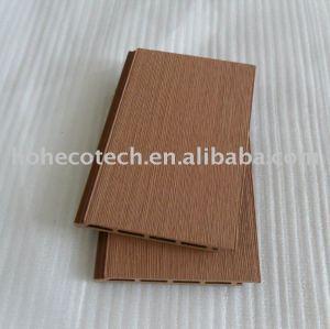 revêtement composé en plastique en bois de mur