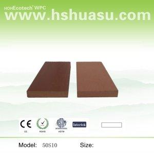 compuesto plástico de madera de esgrima