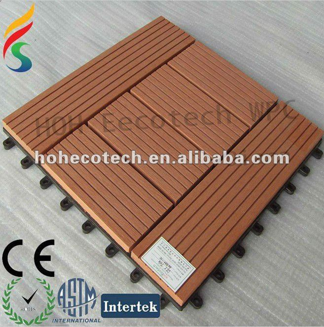 Different size wood plastic composite building material for Garden decking materials