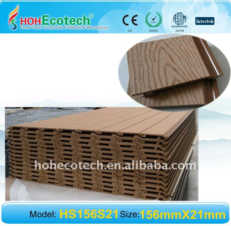 Engineered Wpc Exterior Wall Cladding Panel Wood Plastic Composite Quotes