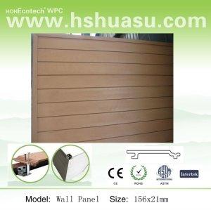 100% reciclado wpc panel de pared