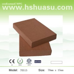 wood plastic composite fencings