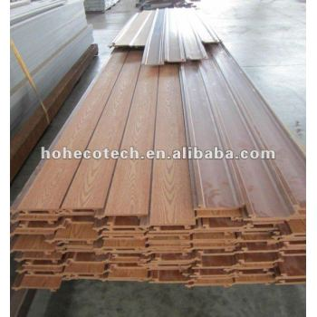 Wall decorating board WPC Cladding Panel,exterior plastic wall cladding, siding panel