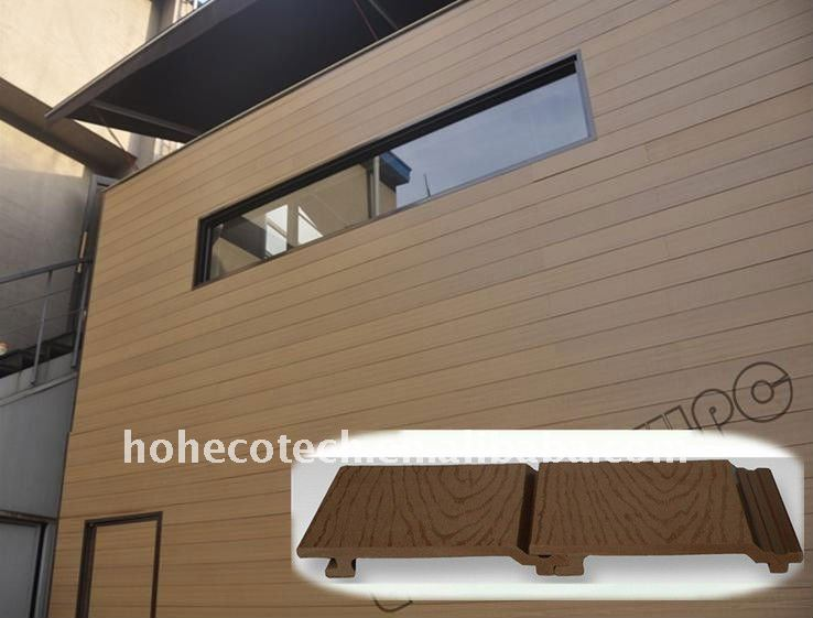 Wall Decorating Board Wpc Cladding Panel Exterior Plastic