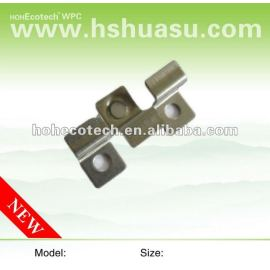 Stainless clip for WPC decking floor/composite deck