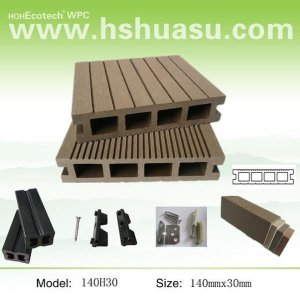 synthetische woodlike holz decking
