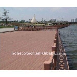 WPC waterside/river bank decking