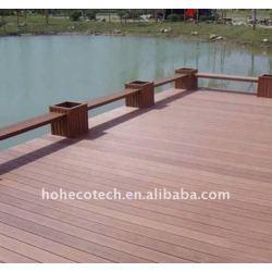 最も普及した木製かタケ構成のフロアーリング! ~laminateのフロアーリングWPCのDecking /flooring