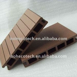 Wpc legno decking composito di plastica/pavimentazione 160*25mm ( ce, rohs, astm, iso 9001, iso 14001, intertek ) wpc decking composito
