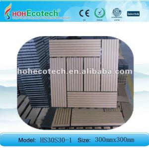 ( ce, rohs, astm, iso9001, iso14001, intertek ) wpc pavimento esterno