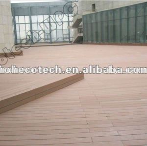 Waterproof Anti-slip/ resistance to rot and crack WPC decking Building Material