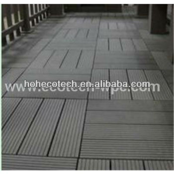 Easy Install (wood pastic composite) decking/WPC decking tiles for Corridor