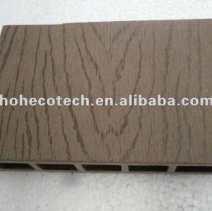 100% reciclado al aire libre del wpc suelo hueco ( decking del wpc/wpc panel de pared/wpc productos de ocio )
