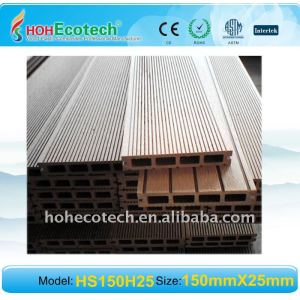 (CE, ROHS, ASTM,ISO9001,ISO14001, Intertek)Wood Plastic Composite Decking WPC DECKING board wpc outdoor flooring Composite Decki