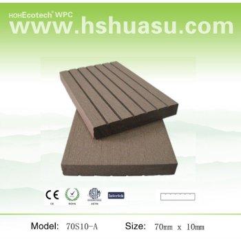 wood plastic composite sauna board