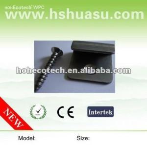 Qualità superiore accessori decking di wpc, in acciaio inox clip