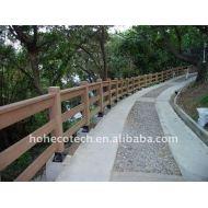 屋外の柵WPCの塀の合成の柵を囲うか、または柵で囲む耐候性があるWPCの合成物