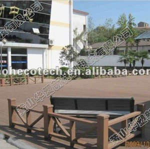 Waterproof Anti-slip/ resistance to rot and crack WPC decking Building Material/outdoor ground