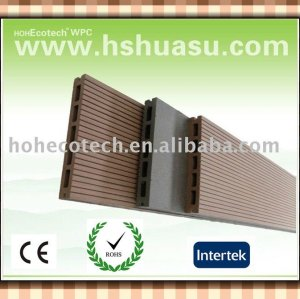 plancher composé en bois creux extérieur recyclable de 100% (CE ROHS ASTM ISO9001)