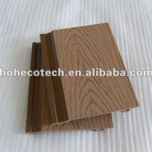 plastica legno composito muro di raccordo esterno