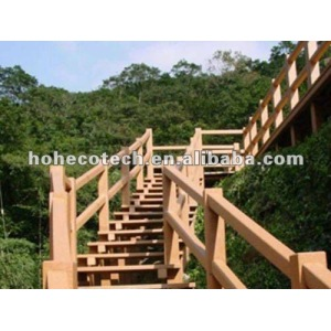 Beautiful recyclable long life WPC outdoor railing (competitive price)
