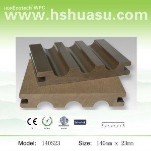140*23mm legno plastica ponti in composito