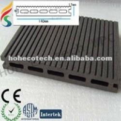 WPCのdeckingの床の合成物の床--HoHecotechの屋外の使用