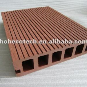 WPC wooden plastic composite decking floor/anti-aging carefree composite decking /eco WPC decking