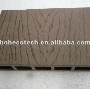 100% riciclato esterno wpc pavimenti cava ( wpc decking/wpc pannello murale/wpc prodotti di svago )