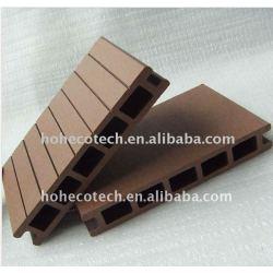 質の保証の滑らかなか紙やすりで磨く効果の木プラスチック合成物WPCの床板のDECKING板