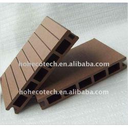 25mmの厚さのwpcのdecking板木プラスチック合成物WPCの床板のDECKING板