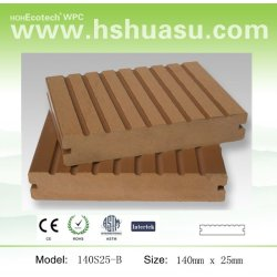 WPCの木製の合成のdecking WPCの屋外のフロアーリングのプラスチック製材
