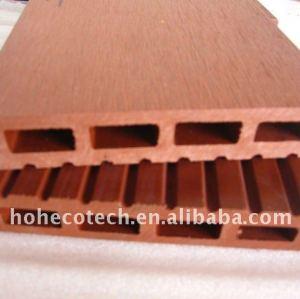 proteçãoambiental plástico de madeira ao ar livre do pátio piso wpc materiais