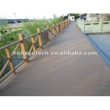 Beautiful new design lanscaping WPC outdoor garden decking/flooring projects