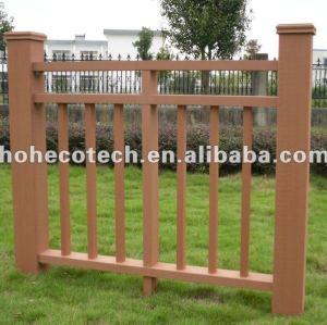 Venda quente! Prova de água ( composto plástico de madeira ) ao ar livre de wpc corrimão da escada/ playground trilhos