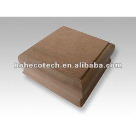 Wood plastic composite wpc fencing post cap