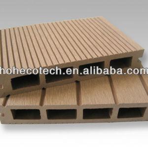 wood plastic composite decking flooring
