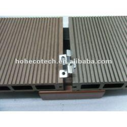 装飾WPCのDeckingの/flooringの屋外か公共のwpcの合成の木製の材木のためのステンレス鋼のaccesorriesの合成の木製の材木