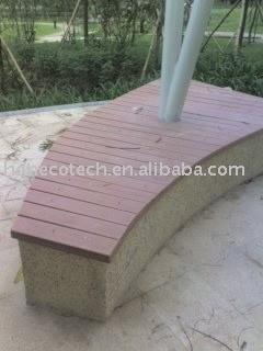composé en bois de decking extérieur