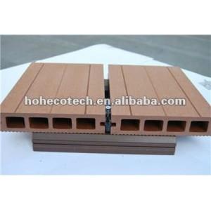 Wpc decking installazione 150x25mm qualità di garanzia! Legno decking composito di plastica/pavimenti per esterni in legno pavimentazione
