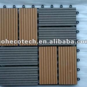Mattonelle impermeabili di decking della cartolina della stanza da bagno di WPC per il giardino/balcone /backyard/courtyard