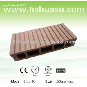 cheap&high qulity composite solid board wpc decking material