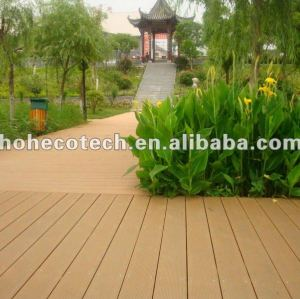 Wpc outdoor decking ( iso9001, iso14001, rohs, ce )