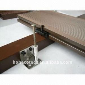 Decking de bois dur de plancher de decking/de WPC (CE, ROHS, ASTM, ISO9001, ISO14001, Intertek)
