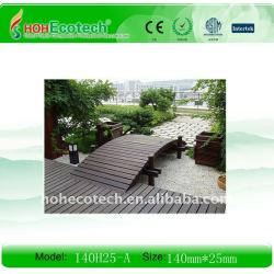 wpcの屋外のdecking (ISO9001、ISO14001、ROHSのセリウム)