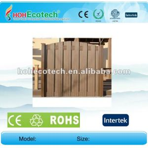 100% recycled wpc high quality garden fence (wpc flooring/wpc wall panel/wpc leisure products)