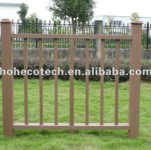 Venda quente! Prova de água ( composto plástico de madeira ) corrimão da escada wpc/ trilhos jardim/ guarda trilhos